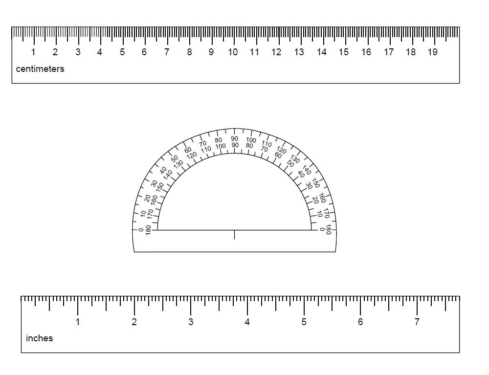 91 Free Printable Rulers in Actual Size