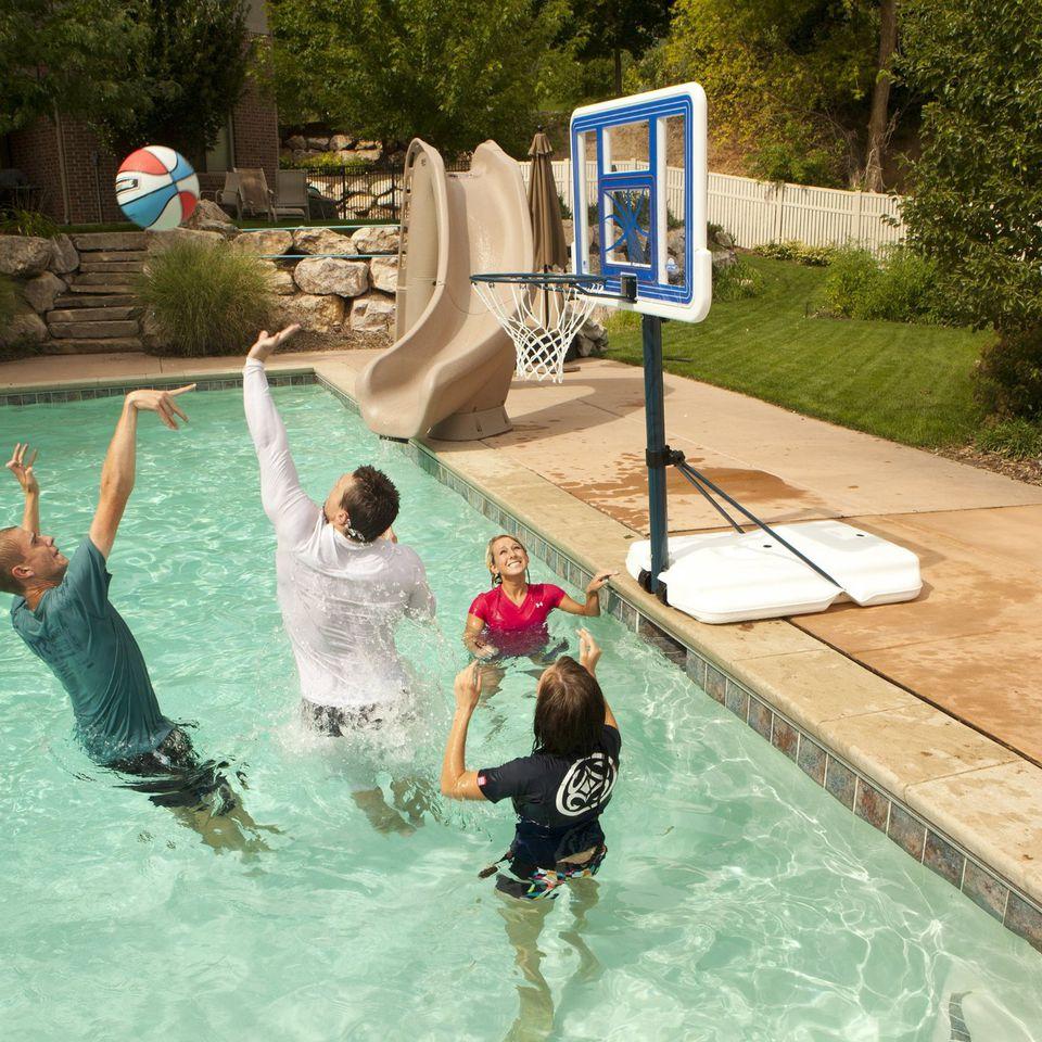 lifetime poolside basketball