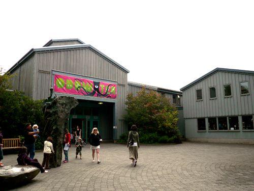 The Oregon Coast Aquarium in Newport