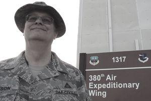 Air Force Historian Ralph Jackson