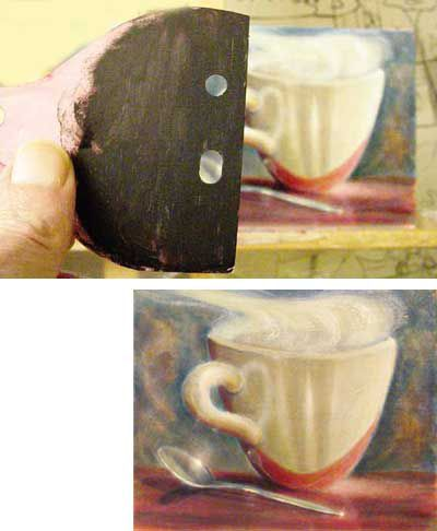 How to make a painting viewfinder