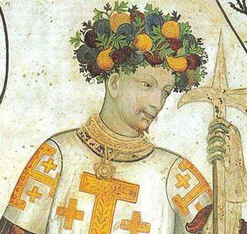 Godfrey of Bouillon from Goffredo Di Buglione and Delfila by Giacomo Jaquerio