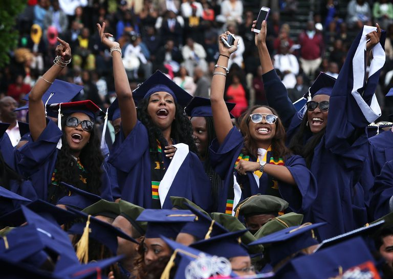 Graduating Students at Howard University