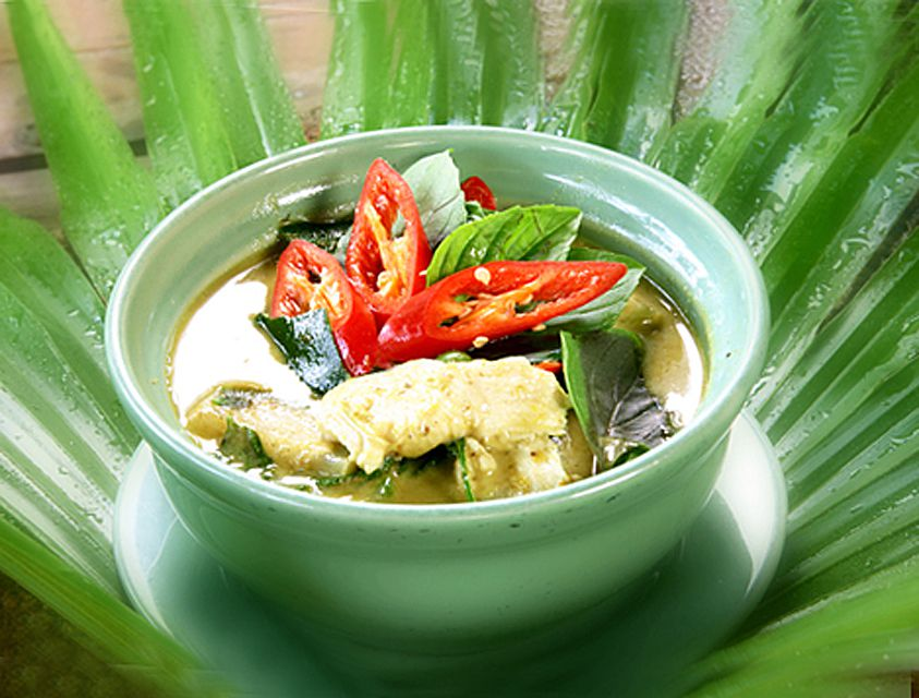 Thai Fish Green Curry, Aromatic & Delicious!