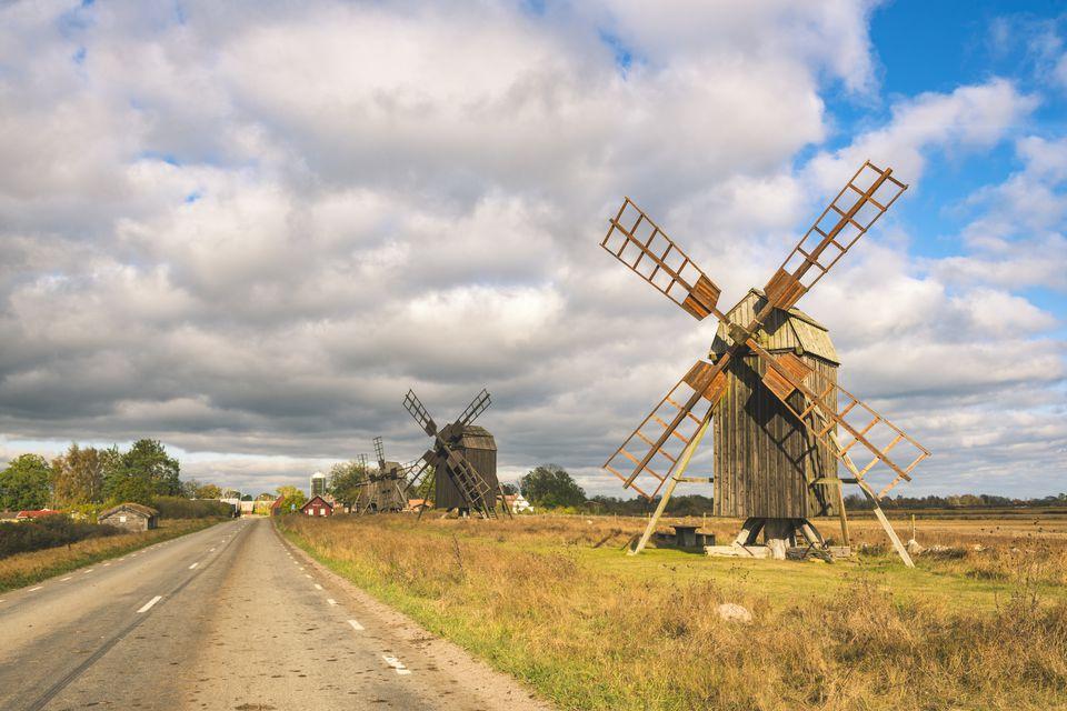 A windmill in Sweden