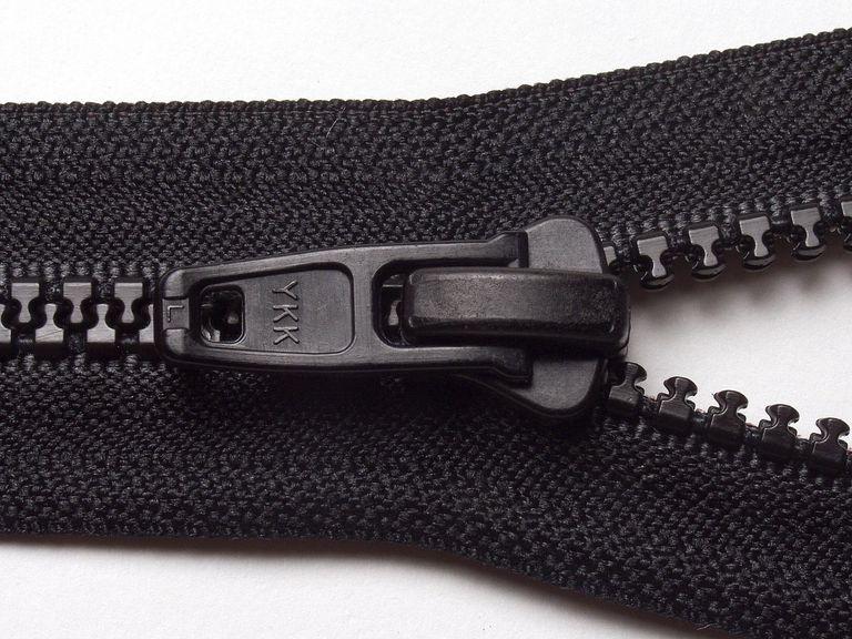 YKK on Zipper