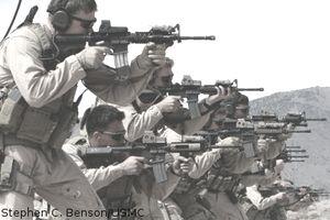 MARSOC Raiders shooting