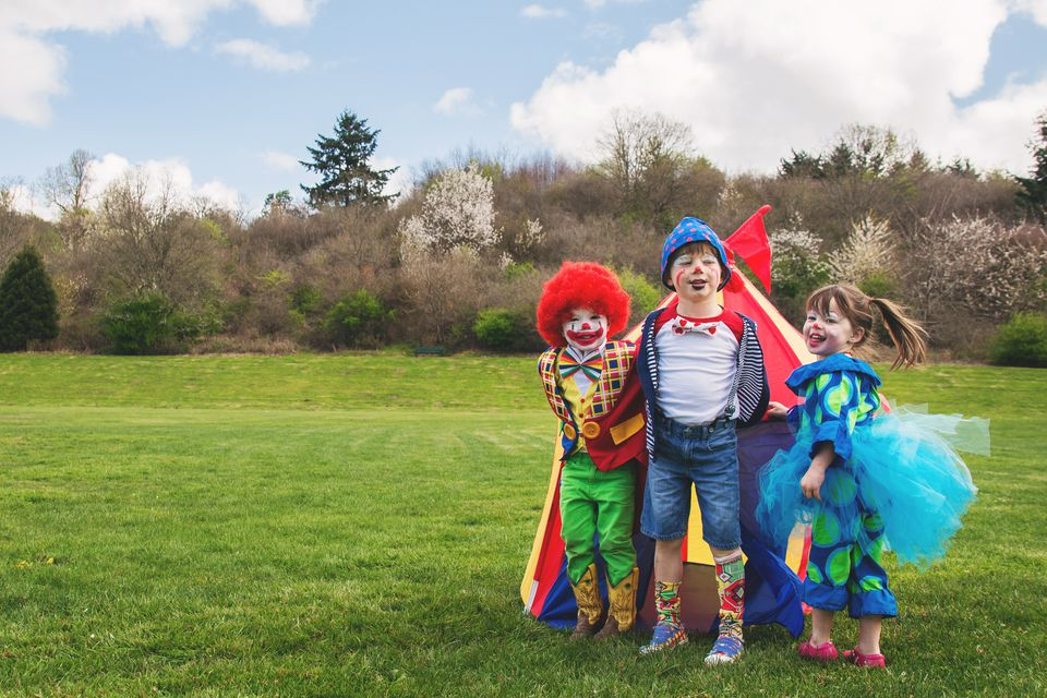 10 fun games for a circus party theme