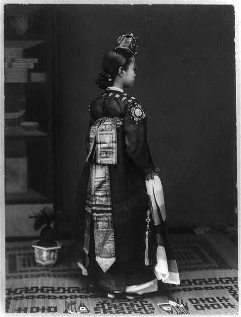 Gisaeng were of the slave class, but could live quite comfortable lives.