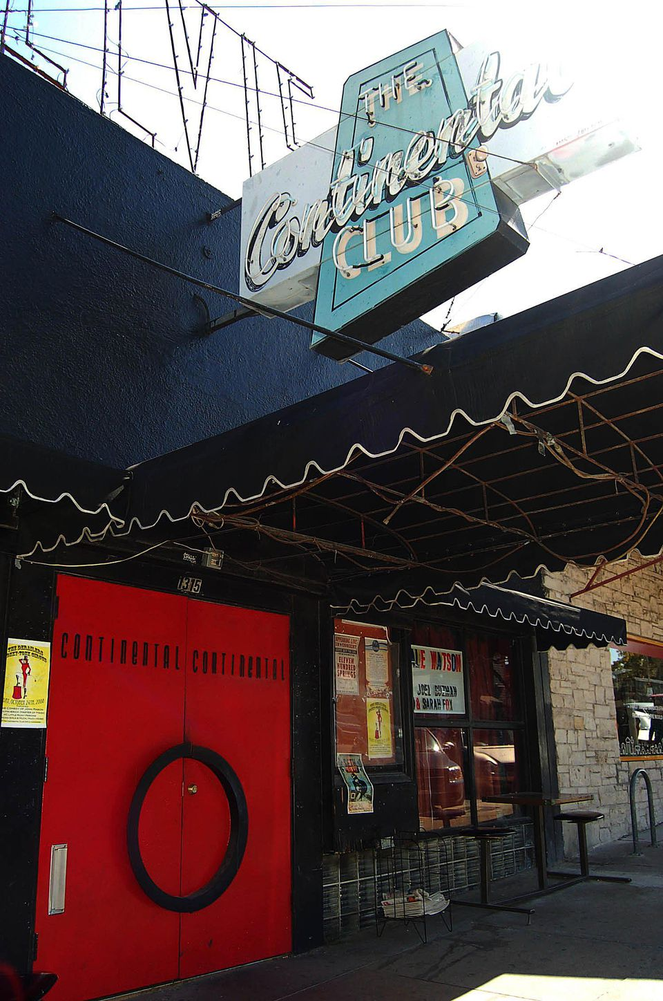 The Continental Club on South Congress Avenue