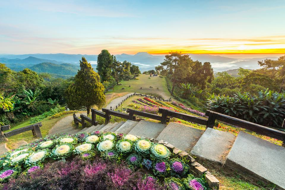 Huai Nam Dang National Park, Chiangmai, Thailand