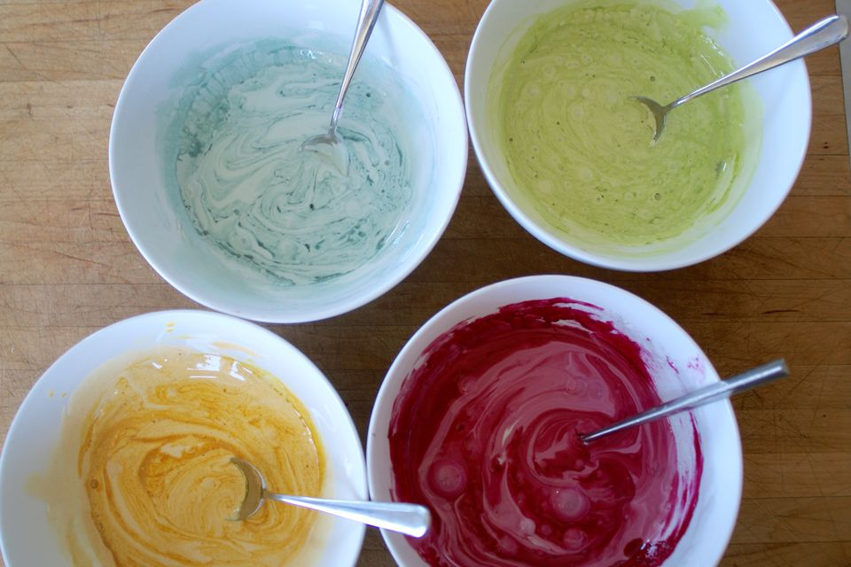 Frosting Dyed Naturally