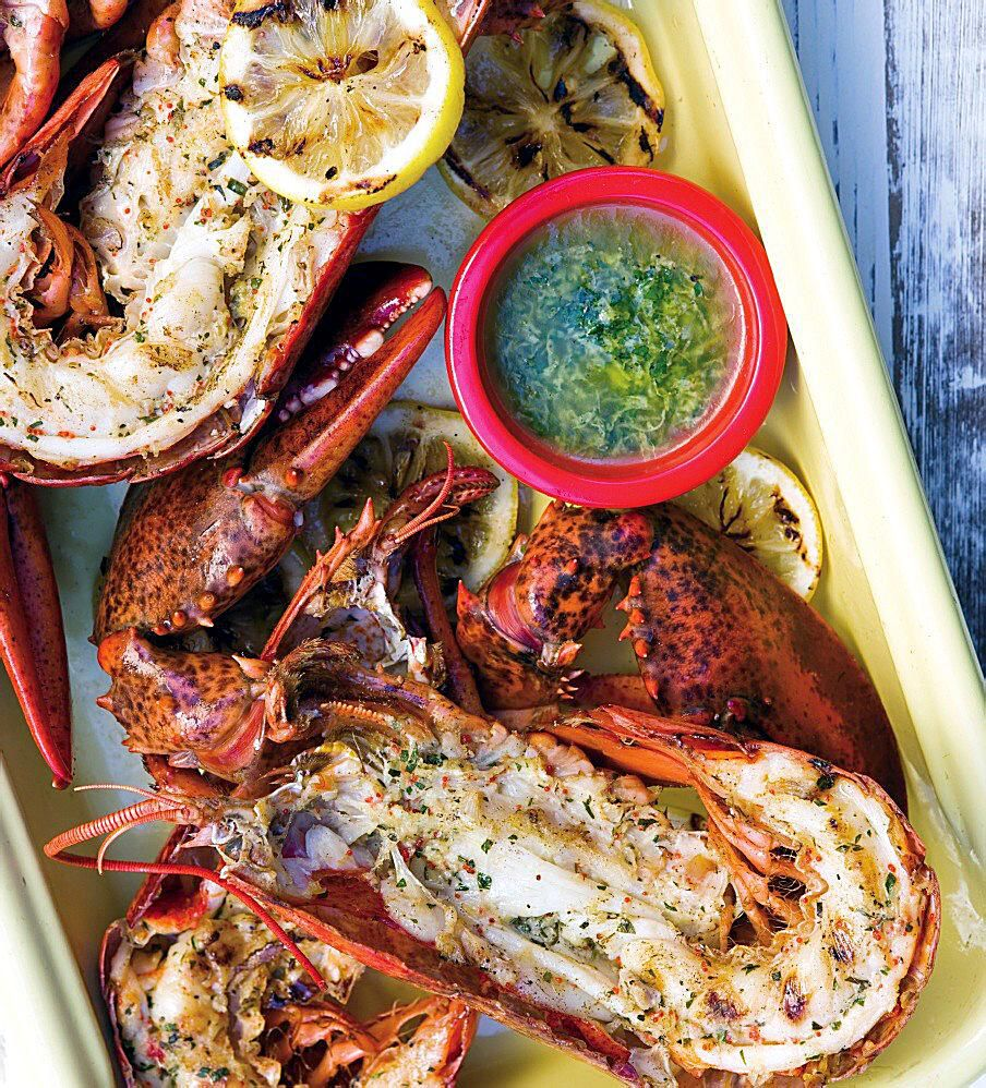 Recipe How To Grill A Whole Lobster