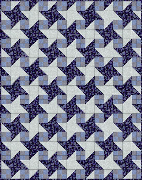 Quilt a Milky Way Pattern Step-By-Step Tutorial : milky way quilt pattern - Adamdwight.com