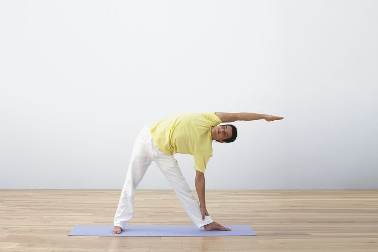 Triangle Is One of the 12 Basic Poses in Sivananda Yoga