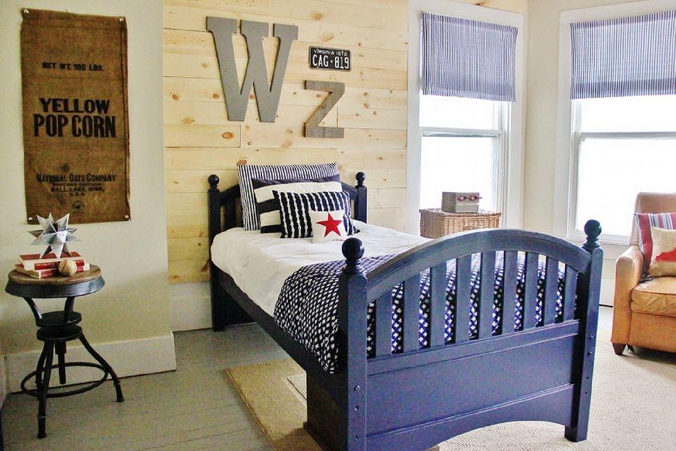 Farmhouse boy's bedroom