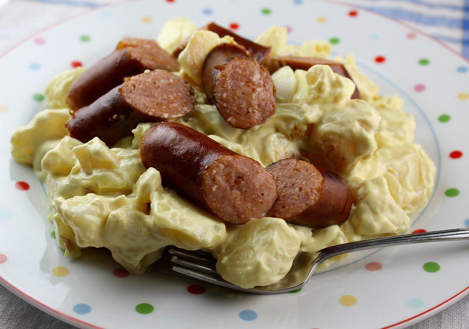Polish Sausage Potato Salad