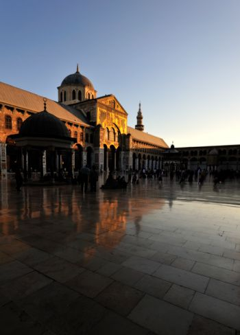 Damascus Syria's Grand Mosque
