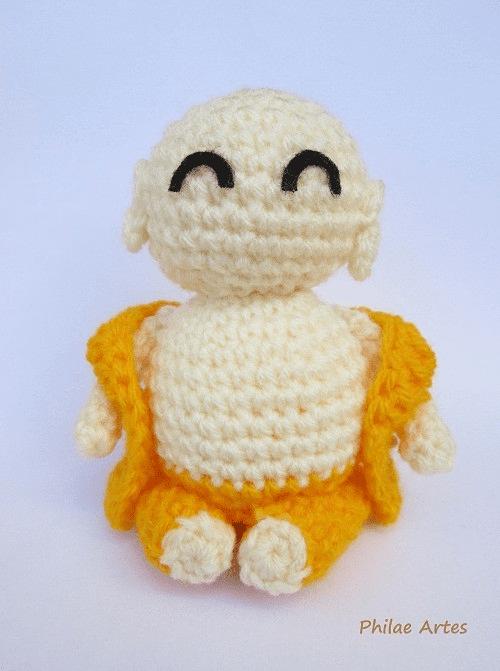 9 Cute Crochet Buddha Patterns