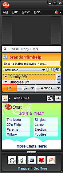Meet New Buddies in AIM Chat Rooms - Access