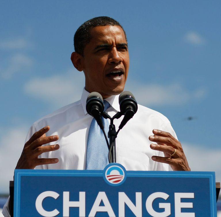 Barack Obama 2008 promises