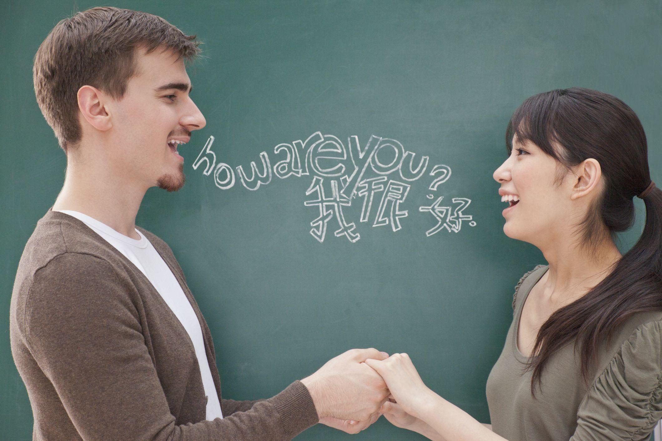 Общение на английском знакомство