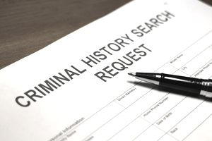 Criminal History Search Request