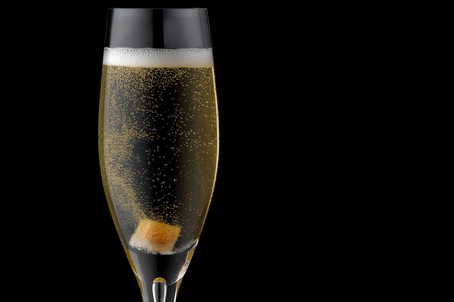 The classic champagne cocktail recipe for Champagne cocktail