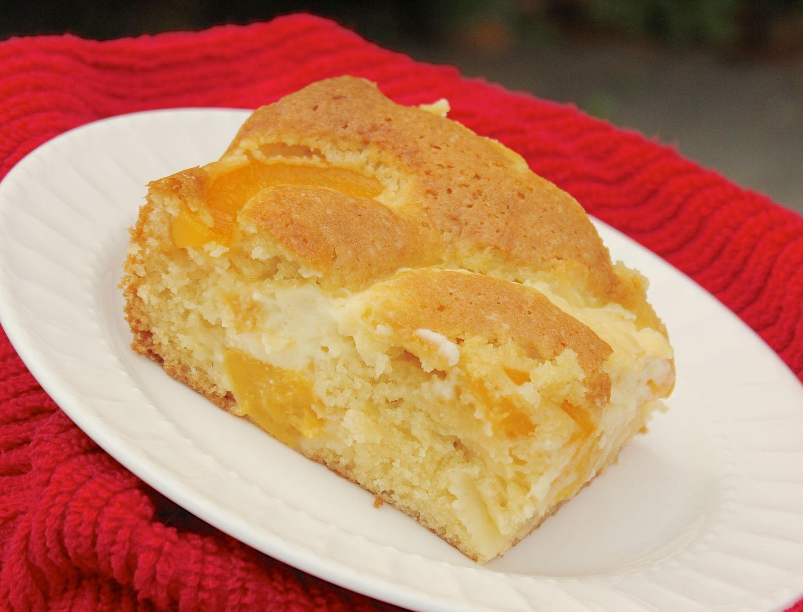 Peach Coffee Cake European