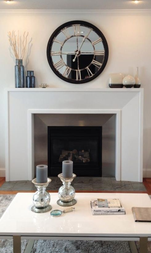 Fireplace mantel ideas that apply to everyday decorating as well as seasonal decor.