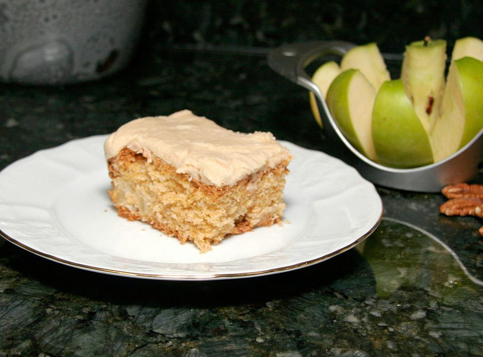 Fresh Grated Apple Cake