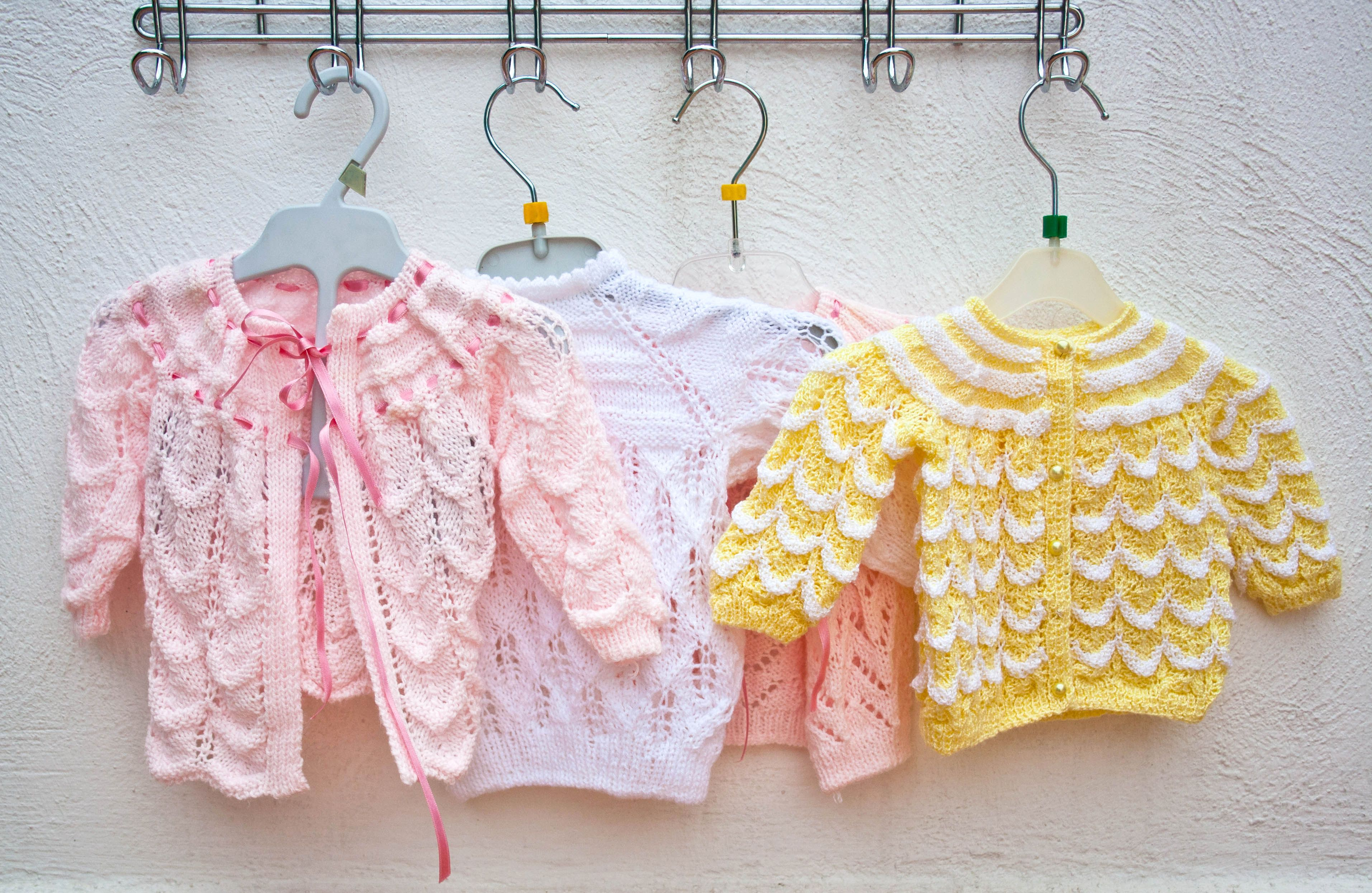 15 adorable baby hat crochet patterns 15 free baby sweater crochet patterns bankloansurffo Choice Image