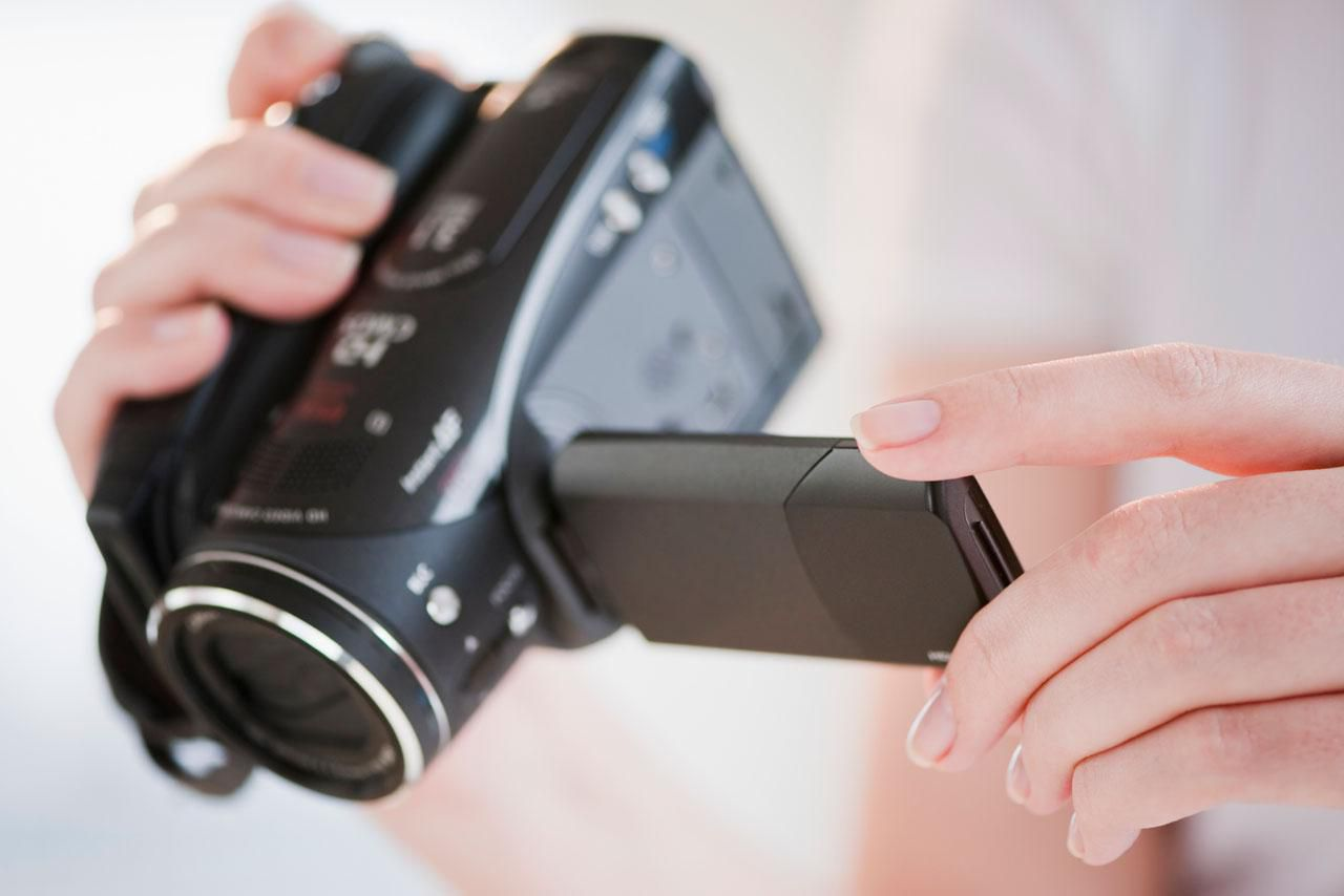 how to put camcorder video on dvd