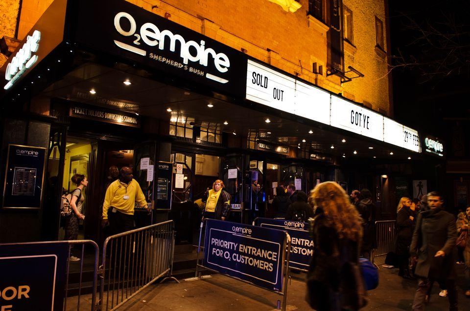 Gotye Performs in London