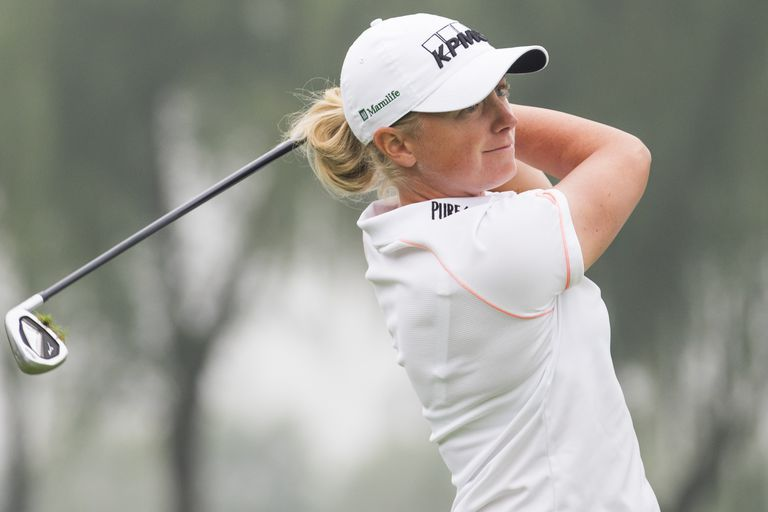 Stacy Lewis at the 2014 Reignwood LPGA Classic