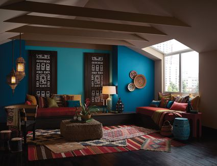 living room ceiling colors. Find the Perfect Wall Color in Sherwin Williams  2017 Forecast 7 Trends You Need to Try