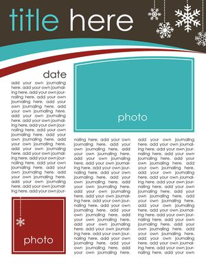 49 free christmas letter templates that youll love creating keepsakes free christmas letter template spiritdancerdesigns Choice Image