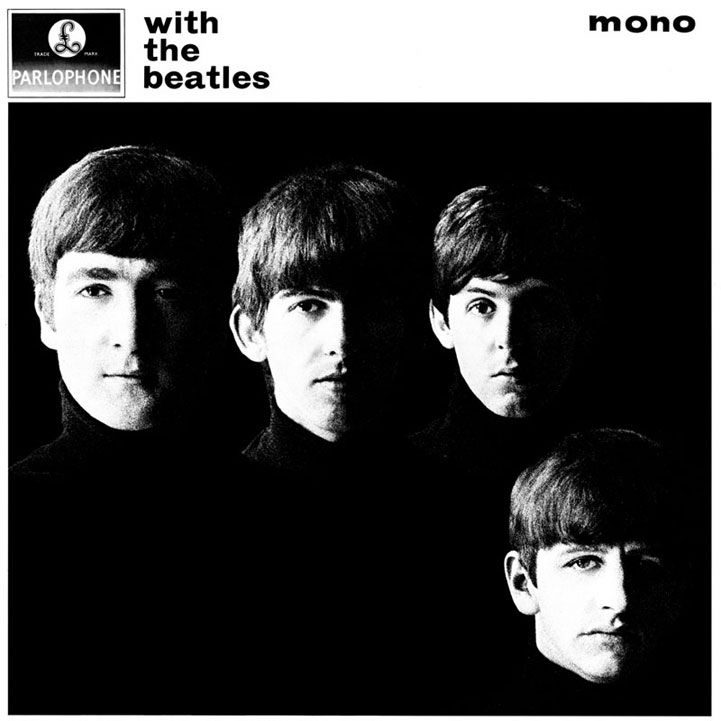 """The Beatles' second UK album """"With The Beatles"""""""