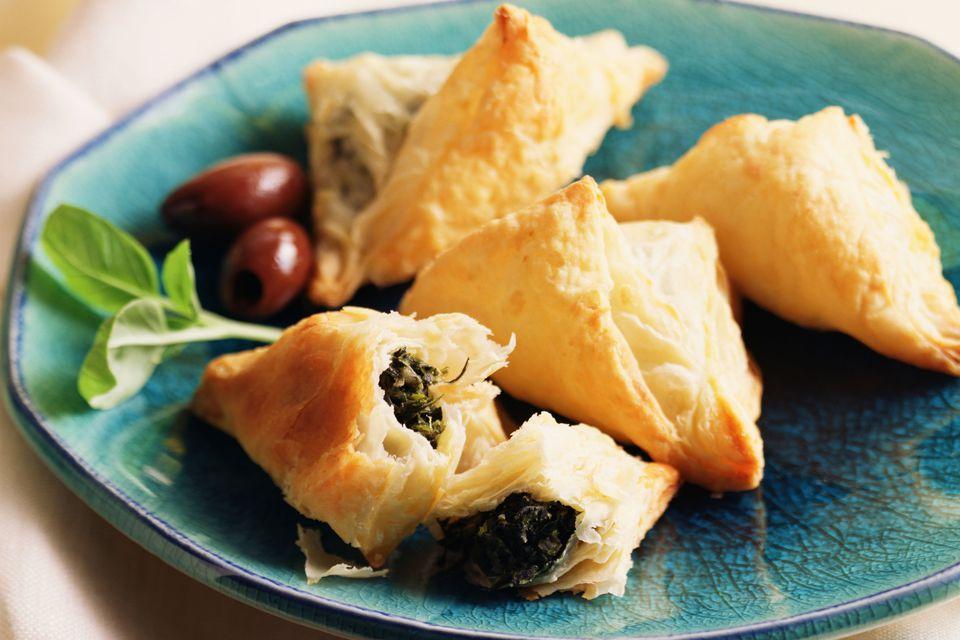 Spanakopita appetizers