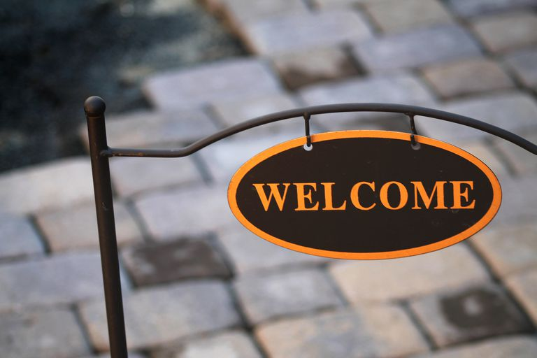 A Welcome Sign