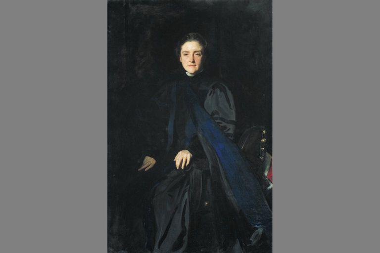 M. Carey Thomas, formal Bryn Mawr portrait