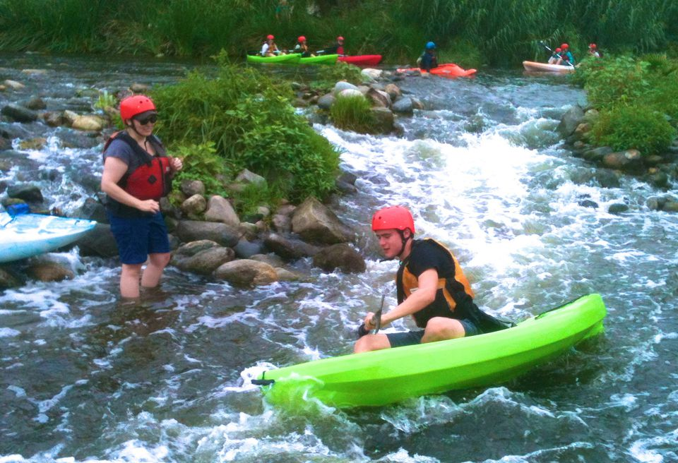 Kayaking the LA River with LA River Expeditions