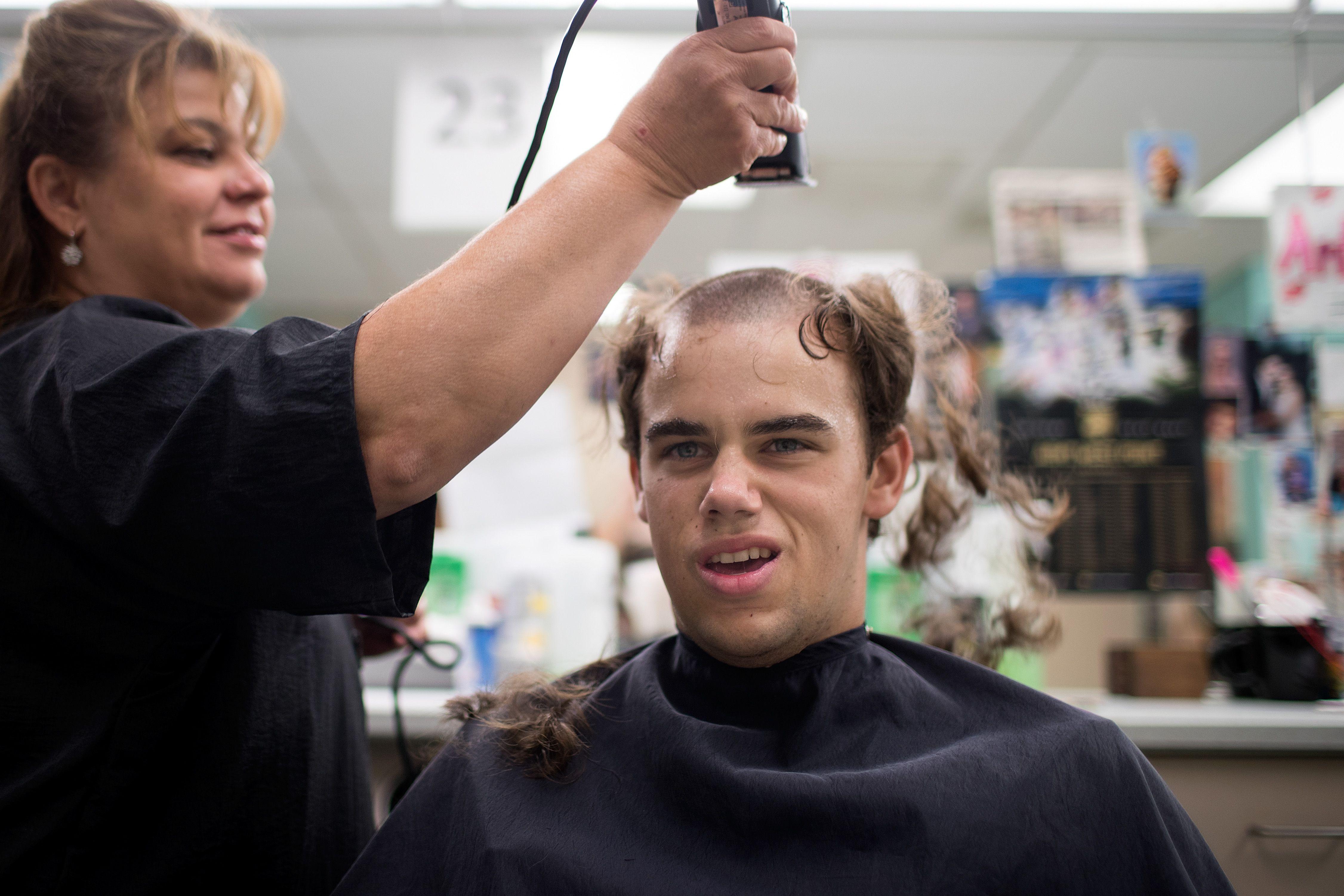 air force basic training haircuts