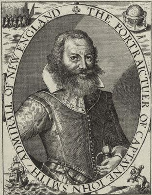 Captain John Smith, Virginia Colony