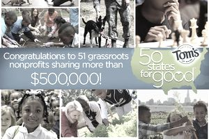 Tom's of Maine created this montage of photos to promote its charitable contest, 50 States for Good