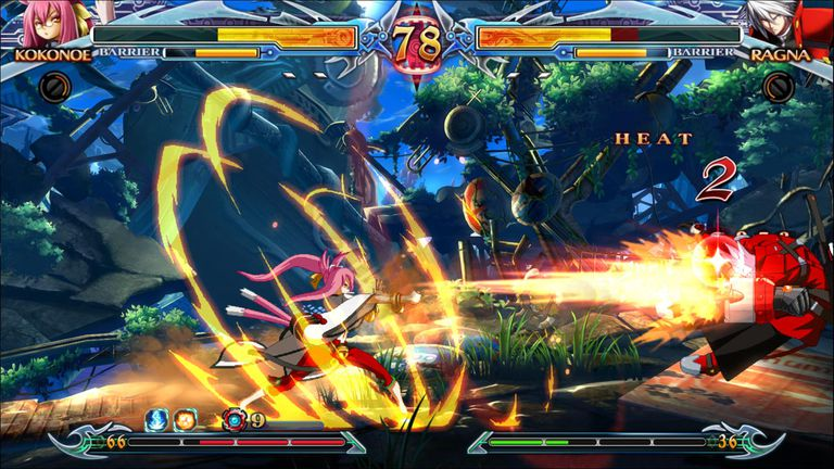 BlazBlue CPX screen 1