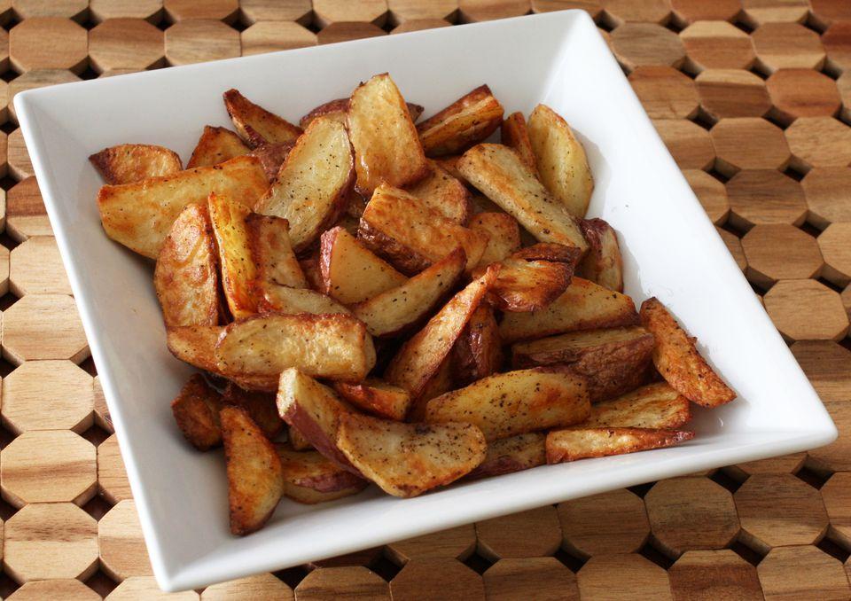 fried potatoes oven