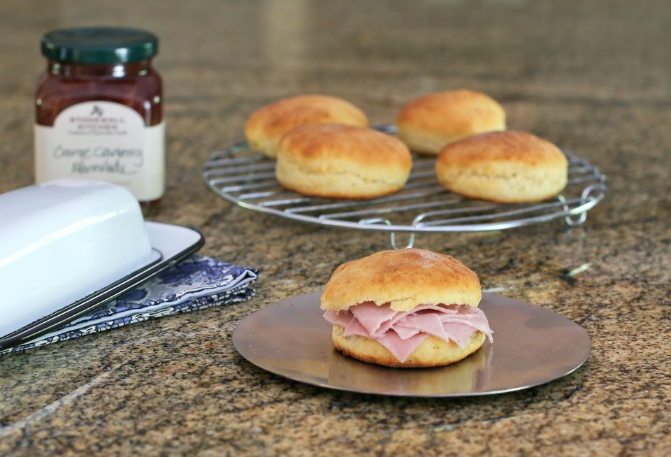 Biscuits with Ham