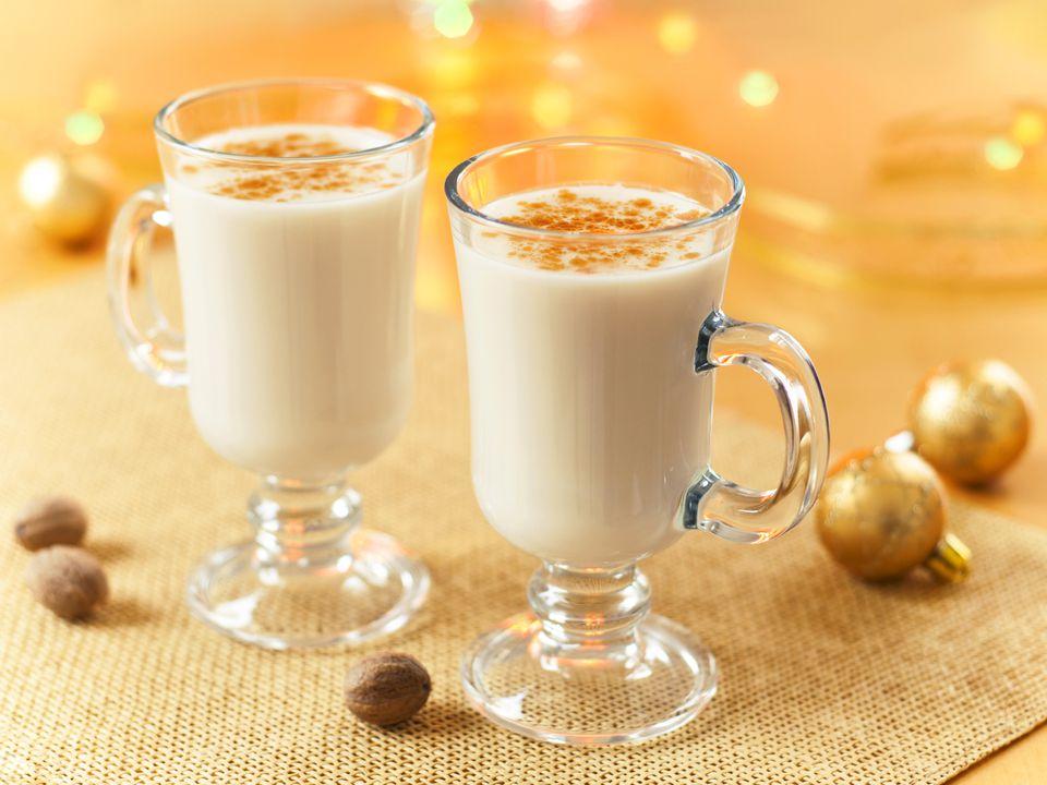 Eggnog Recipe with Brandy, Bourbon, or Rum Recipe