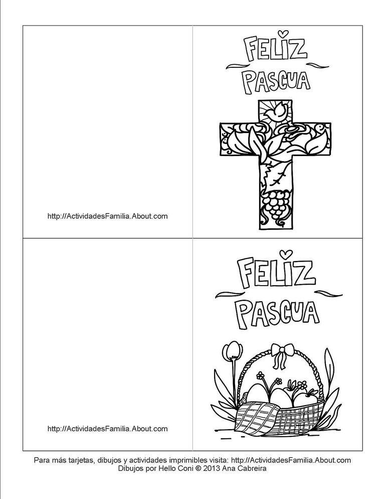 Bonito Páginas Para Colorear Imprimibles De Pascua Para Niños Friso ...